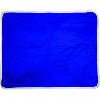Pet Cooling Pad For Medium To Large Dogs BLUE 20 X 35 INCH
