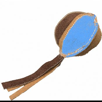 Dura Fuse Leather Ball BROWN 2.5 INCH
