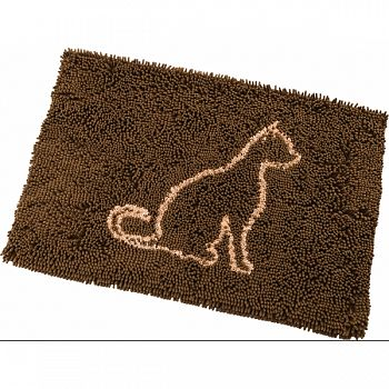 Clean Paws Cat Mat BROWN 35X24 INCH