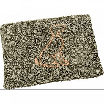 Clean Paws Microfiber Mat SAGE 31X20 IN