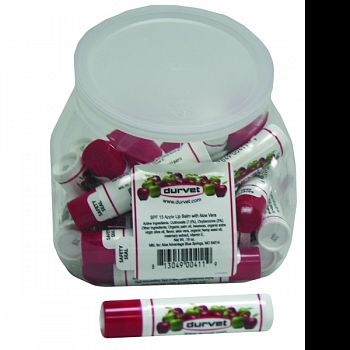 Lip Balm Bubble Shaped Display APPLE 25 COUNT