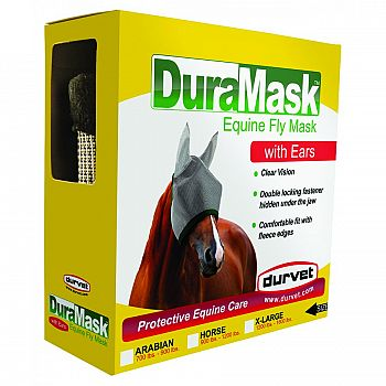 Duramask Fly Mask With Ears - XL