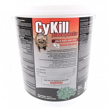 Cykill Place Packs - 100 / 0.75 oz. each