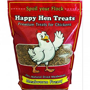 Happy Hen Treats Mealworm Frenzy For Chickens - 30 oz.