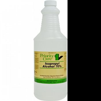 Priority Care Isopropyl Alcohol 70% Solution  32 OUNCE