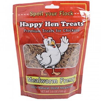 Mealworm Frenzy Chicken Treats
