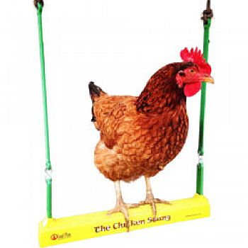 Fowl Play The Chicken Swing YELLOW