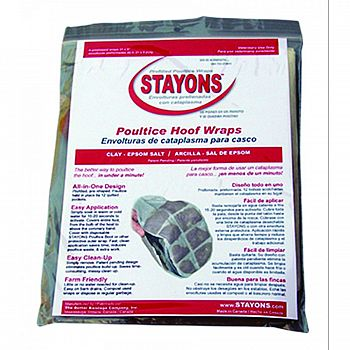 Stayons Poultice Hoof Wraps 21 x 9 in.