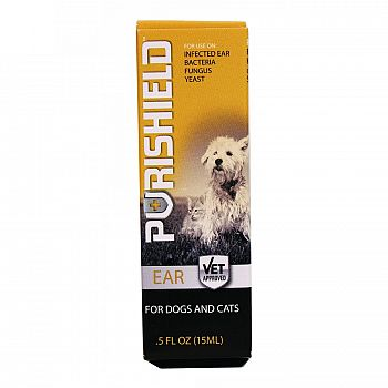 Purishield Ear Drops For Dogs And Cats