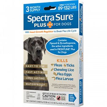 Spectra Sure Plus Igr For Dogs 3-dose