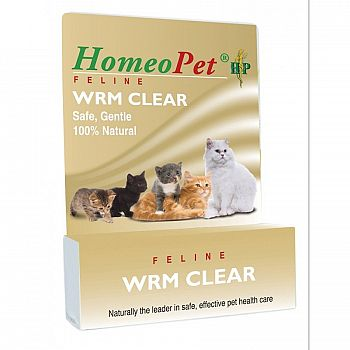 Homeopet WRM Clear Feline Remedy - 15 ml.