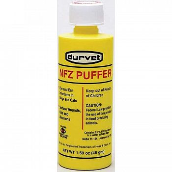 NFZ Puffer for Dog / Cat Infections - 1.59 oz.