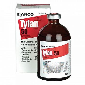 Tylan 50 for Cattle - 100 ml