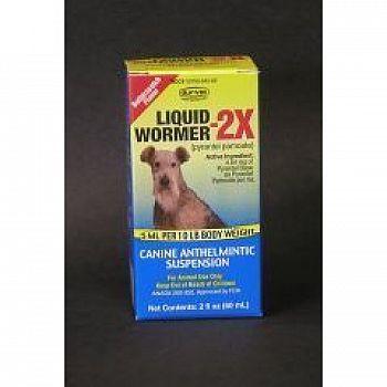 Liquid Wormer-2x for Dogs - 2 oz.