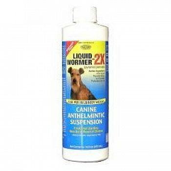 Durvet Liquid Dog Wormer 2X - 16 oz.