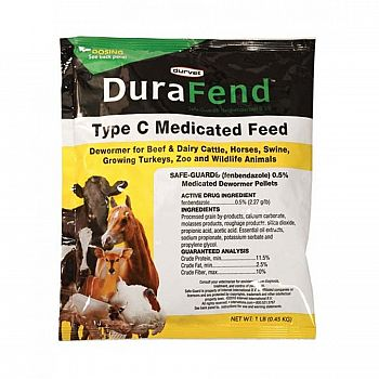 Durafend Dewormer for Livestock - 1 lbs.