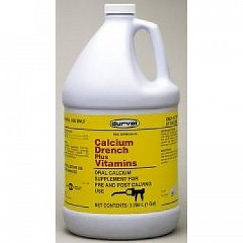 Calcium Drench + Vitamins for Cattle - Gallon