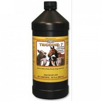 Triodine-7 Pet / Livestock Disinfectant 32 oz.