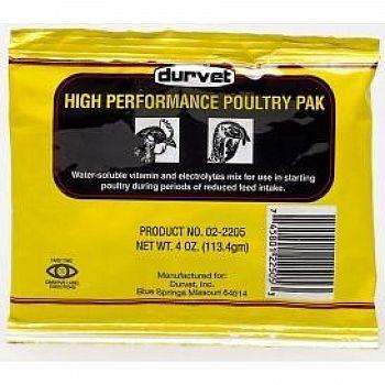 Hi Performance Poultry Pak 4 oz.