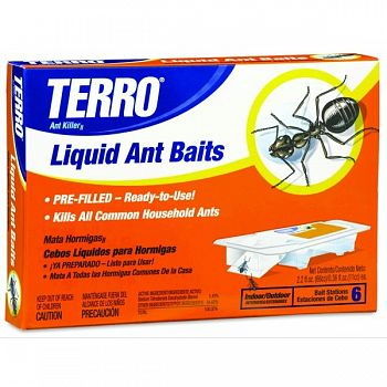 TERRO Ant Killer II Liquid Ant Baits - 2.2 oz.