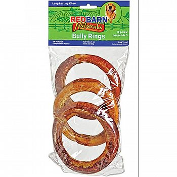 Naturals Dog Bully Rings - 3 pk.