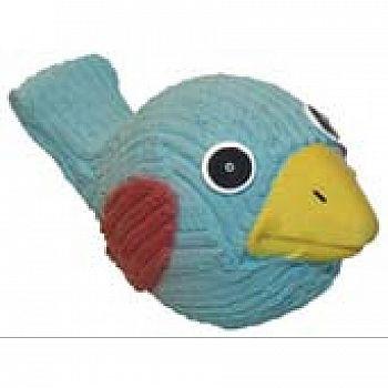 Ruff-tex Blue Bird Dog Toy - 4.5 in