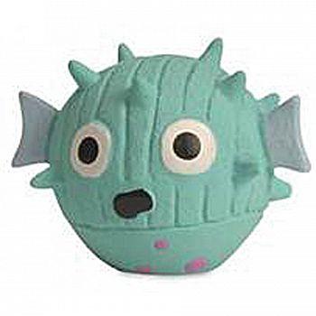 Ruff-tex Blowfish Dog Toy - Mini / Green