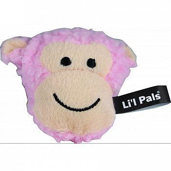 Li L Pals Fleece Monkey Dog Toy