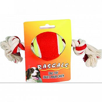 Rascals Tennis Ball Tug Toy