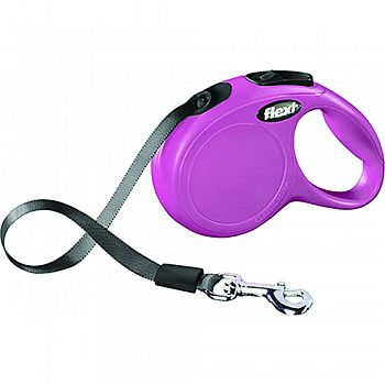 Flexi Classic Tape Extendable Dog Leash PINK 10 FOOT