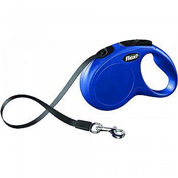 Flexi Classic Tape Extendable Dog Leash BLUE 16 FFOT