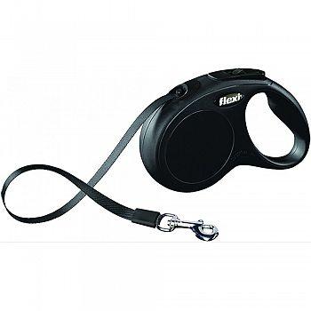Flexi Classic Tape Extendable Dog Leash BLACK 16 FOOT