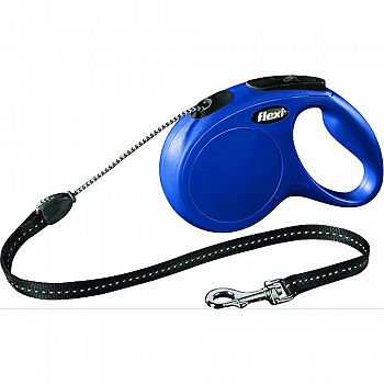 Flexi Classic Cord Extendable Dog Leash BLUE 16 FOOT
