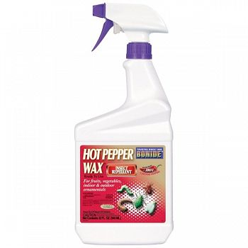 Hot Pepper Wax Insect Repel RTU 32 oz.