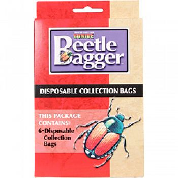 Beetle Bagger Japanese Beetle Trap Replacmnt Bags