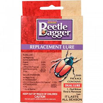Beetle Bagger Japanese Beetle Trap Replacmnt Lure