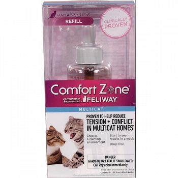 Comfort Zone Feliway Multi Cat Refill  48 ML