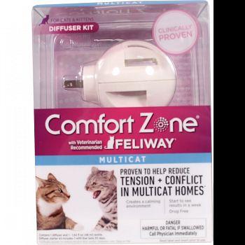 Comfort Zone Feliway Multi Cat Diffuser  48 ML