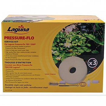 Pressure-flo Service Kit for Laguna PT1500