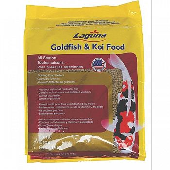 Goldfish & Koi Food Floating Pellets - All Season - 9.9 lbs.