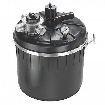 Pondmaster pressurized pond filter system pond supplies for Pond filter system