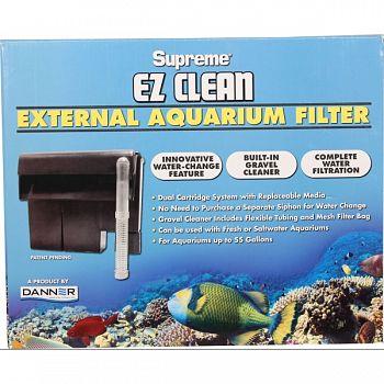 Supreme Ez Clean External Aquarium Filter  UP TO 55 GALLON