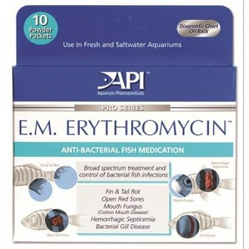EM Erythromycin Powder Packets