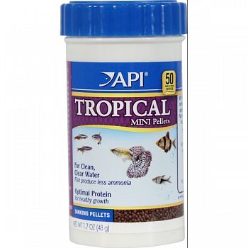 Tropical Mini Pellet  1.7 OUNCE