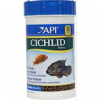 Cichlid Medium Pellet  2.5 OUNCE