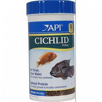Cichlid Medium Pellet  4.2 OUNCE
