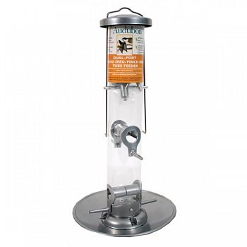 Audubon Dual-port Mixed Seed/ Finch Mix Tube Feeder