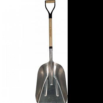 Tru Tough Steel Scoop Shovel STEEL/WOOD 27 INCH