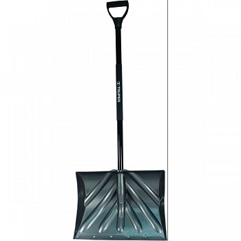 Snow Shovel Reinforced Blade With Steel Handle GRAY 18 INCH WIDE