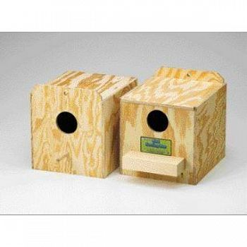 Parakeet Nest Box